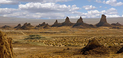 Photograph - Trona Pinnacles Peaks by Marius Sipa