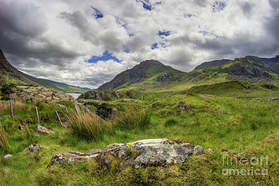 Photograph - Tryfan Mountain by Ian Mitchell