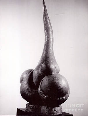 Sculpture - Tuber Form I by Robert F Battles