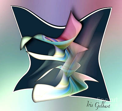 Digital Art - Twist And Turn by Iris Gelbart