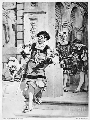 Two Gentlemen Of Verona Art Print by Granger