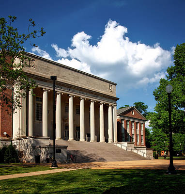 University Of Alabama Library Art Print by Mountain Dreams