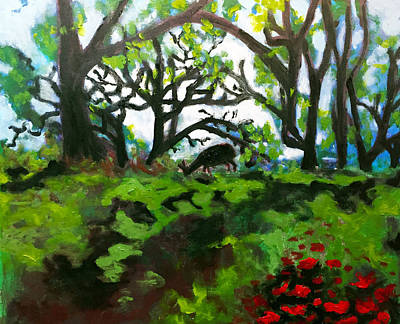 Painting - The Neck Of Woods by Dilip Sheth