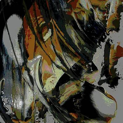Abstract Art Painting - Untitled by Karen Lillard