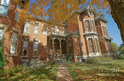 Vaile Mansion Art Print by Liane Wright