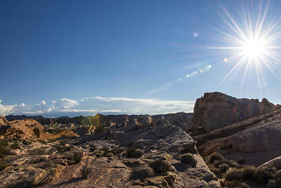 Photograph - Valley Of Fire by Gej Jones