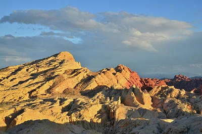 Photograph - Valley Of Fire Sunset by Ray Mathis