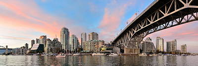 Photograph - Vancouver False Creek  by Songquan Deng
