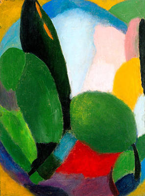 Painting - Variation by Alexej von Jawlensky