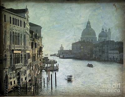 Venice Art Print by Bernard Jaubert