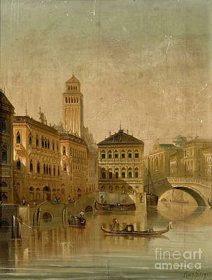 Century Painting - Venice by Celestial Images
