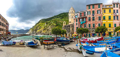 Landmarks Royalty Free Images - Vernazza, Cinque Terre, Liguria, Italy Royalty-Free Image by JR Photography