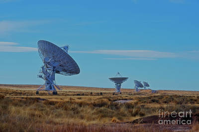 Photograph - Very Large Array by David Arment