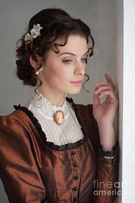 Photograph - Victorian Woman Portrait by Lee Avison