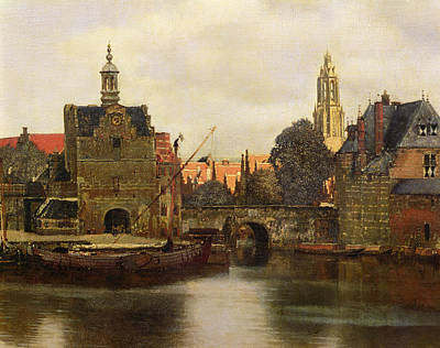 Painting - View Of Delft by Jan Vermeer