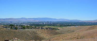 Photograph - View Of Reno by Brent Dolliver