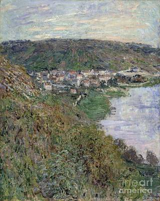 Painting - View Of Vetheuil by Celestial Images