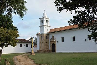 Digital Art - Villa De Leyva Monasterio De Carmelitas Descalzas by Carol Ailles