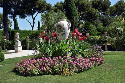 Photograph - Villa Ephrussi De Rothschild by Harvey Barrison