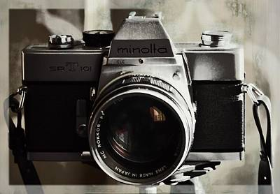 Photograph - Vintage Minolta by JAMART Photography