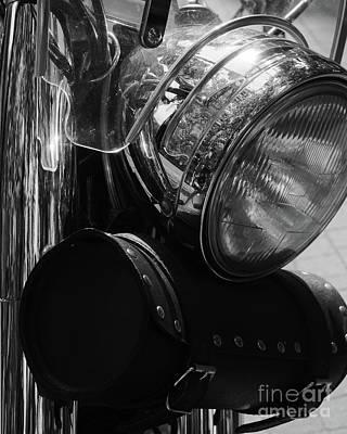 Photograph - Vintage Motorbike by Dariusz Gudowicz