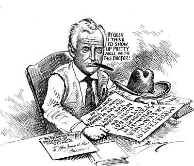 Drawing - Vintage Political Prohibitioncartoon by Vintage Pix