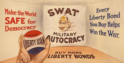 Painting - Vintage Wwi Poster by Vintage Pix