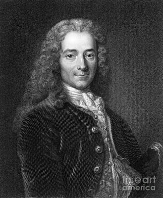 Philosophical Photograph - Voltaire, French Author by Middle Temple Library