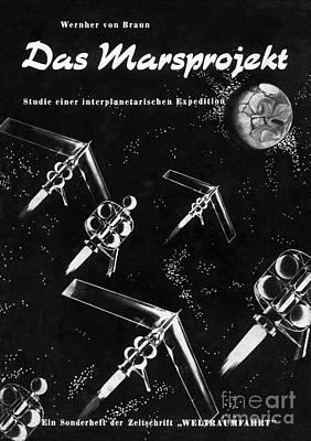 Wernher Von Braun Photograph - Von Brauns Mars Project, 1952 by Detlev van Ravenswaay