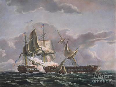 War Of 1812: Naval Battle Art Print