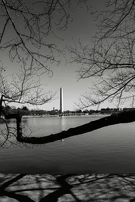 Photograph - Washington Memorial by Brandon Bourdages