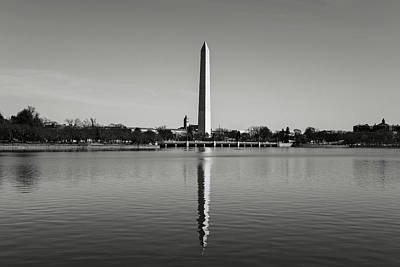 Photograph - Washington Memorial In Washington Dc by Brandon Bourdages