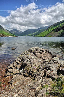 Lake District Wall Art - Photograph - Wastwater by Smart Aviation