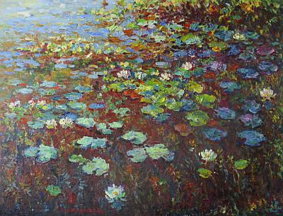 Water Lilies Original