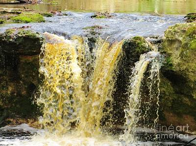 Photograph - Waterfall by Tim Townsend