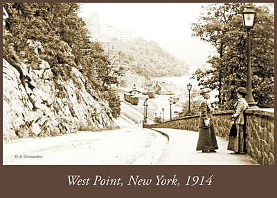 Photograph - West Point, New York, 1914, Vintage Photograph by A Gurmankin