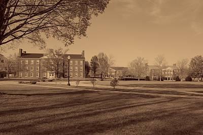 Wesleyan Photograph - West Virginia Wesleyan College Campus by Mountain Dreams