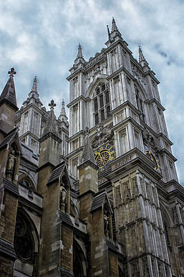 Westminster Abbey Art Print by Martin Newman