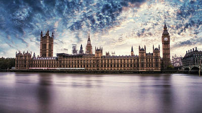 Mp Photograph - Westminster by Martin Newman