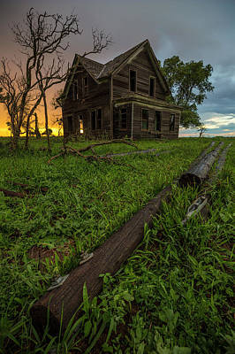 Photograph - What Once Was... by Aaron J Groen