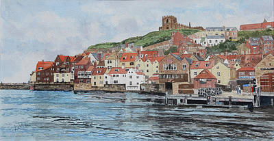 Painting - Whitby by George Levitt