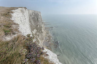 White Cliffs Of Dover Art Print by Ian Hufton