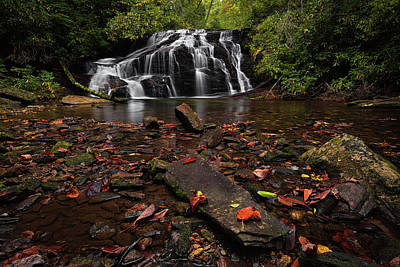 Photograph - White Owl Falls by Reid Northrup