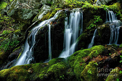 Photograph - Wigwam Falls by Thomas R Fletcher