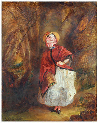 Frith Painting - William Powell Frith by Dolly Varden