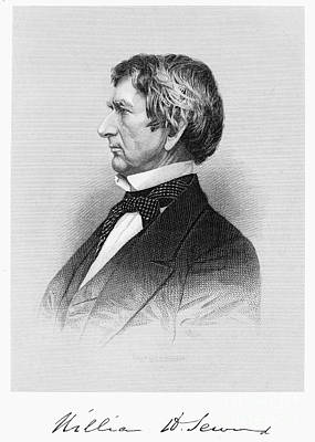 Autographed Photograph - William Seward (1801-1872) by Granger