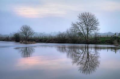 Winter Trees Photograph - Wimborne Minster - England by Joana Kruse