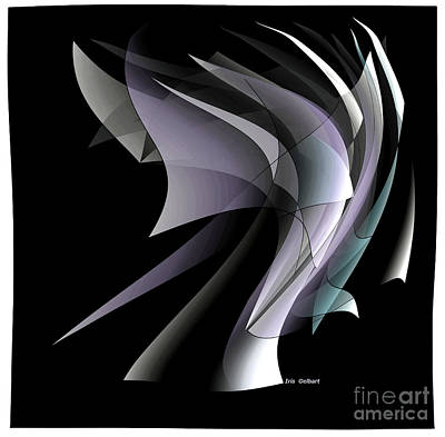 Digital Art - Wind by Iris Gelbart