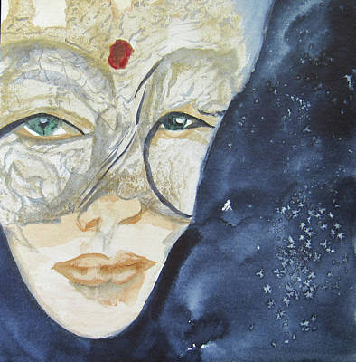 Painting - #3 Witchy Woman by Teresa Beyer