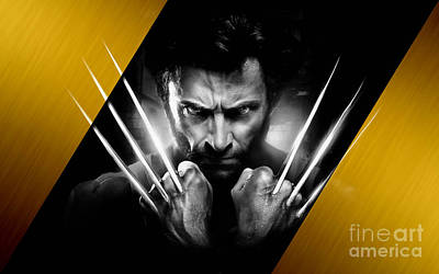 Wolverine Collection Art Print by Marvin Blaine